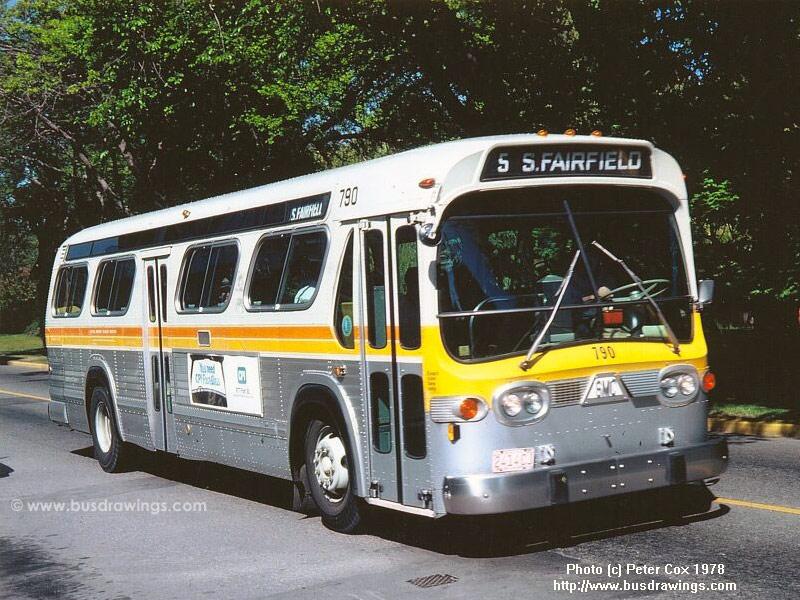 Www Busdrawings Com Victoria 1976 T6h 4523n