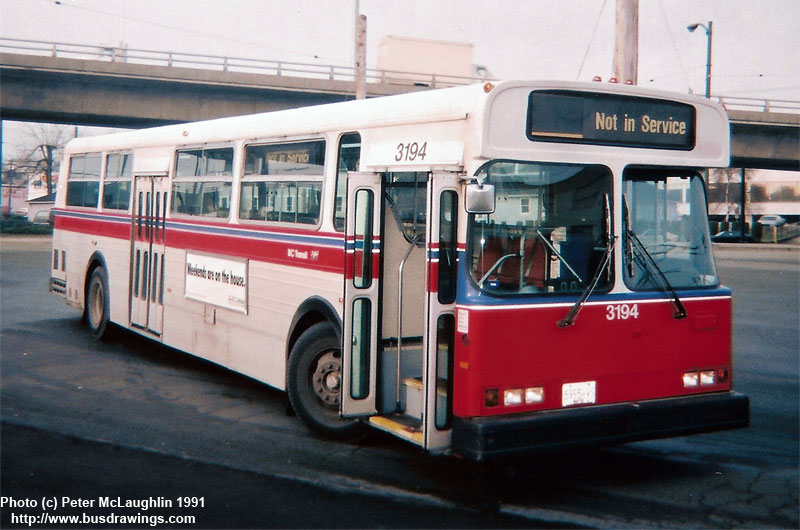 Www Busdrawings Com Vancouver 1982 Flyer D901a 10240