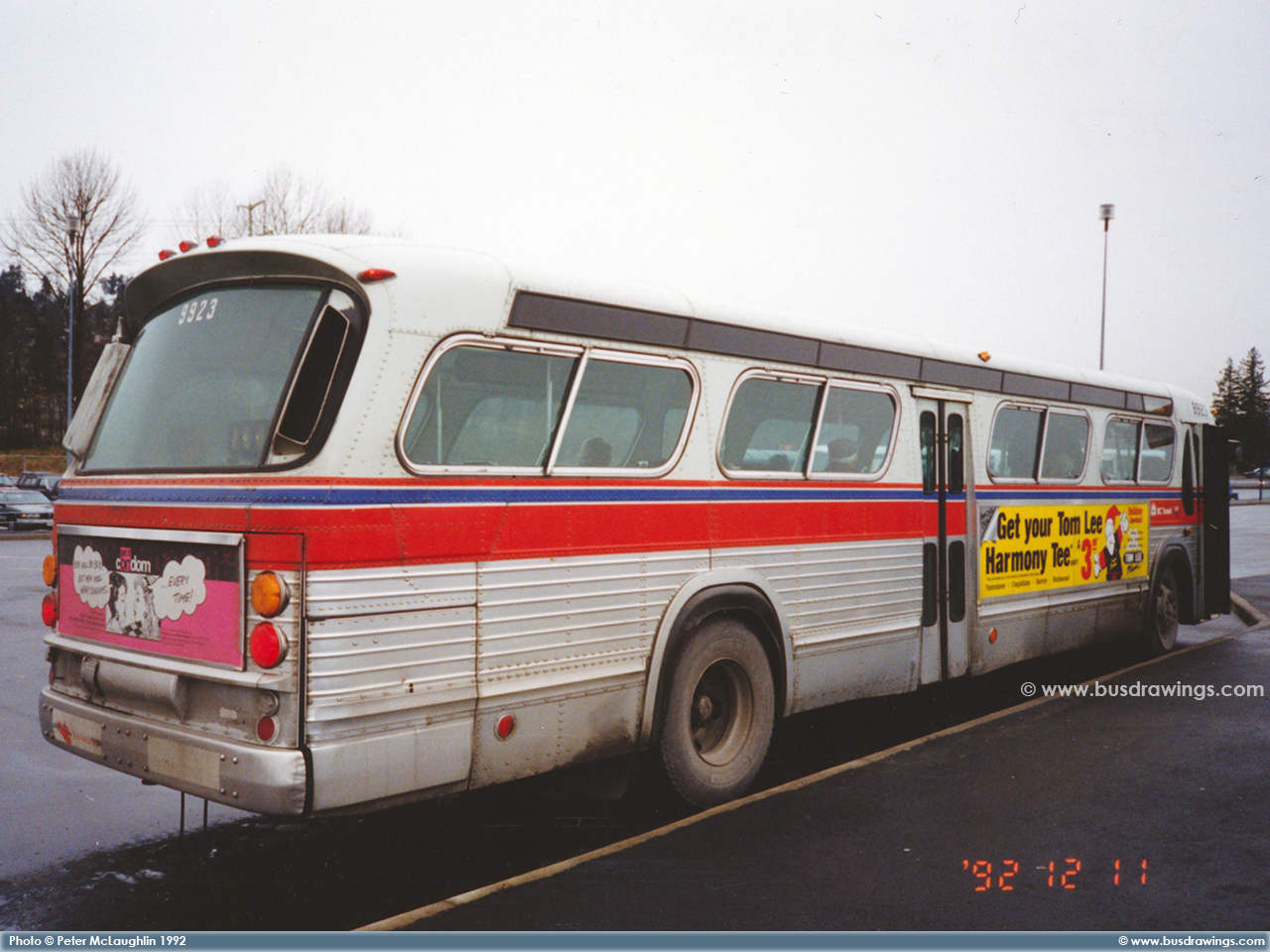 www busdrawings com - Vancouver - 1973 GM Fishbowl T6H-5308N