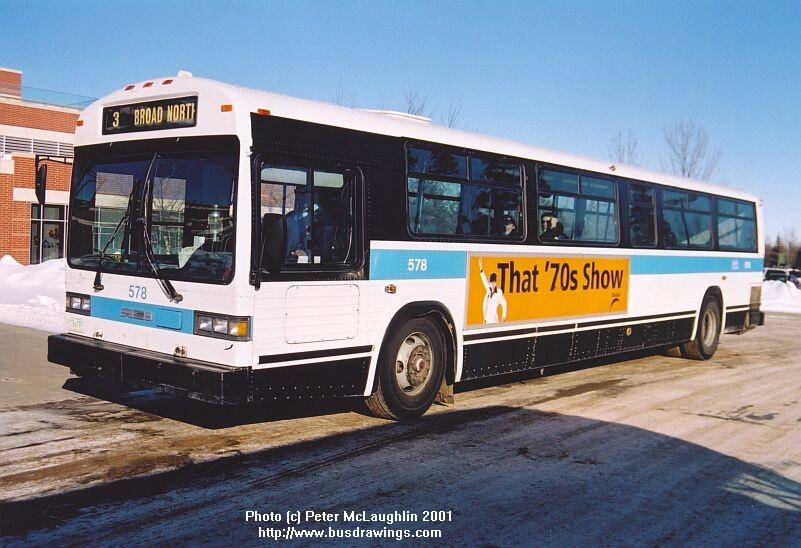 www busdrawings com - Regina - 1990 MCI TC-40102N