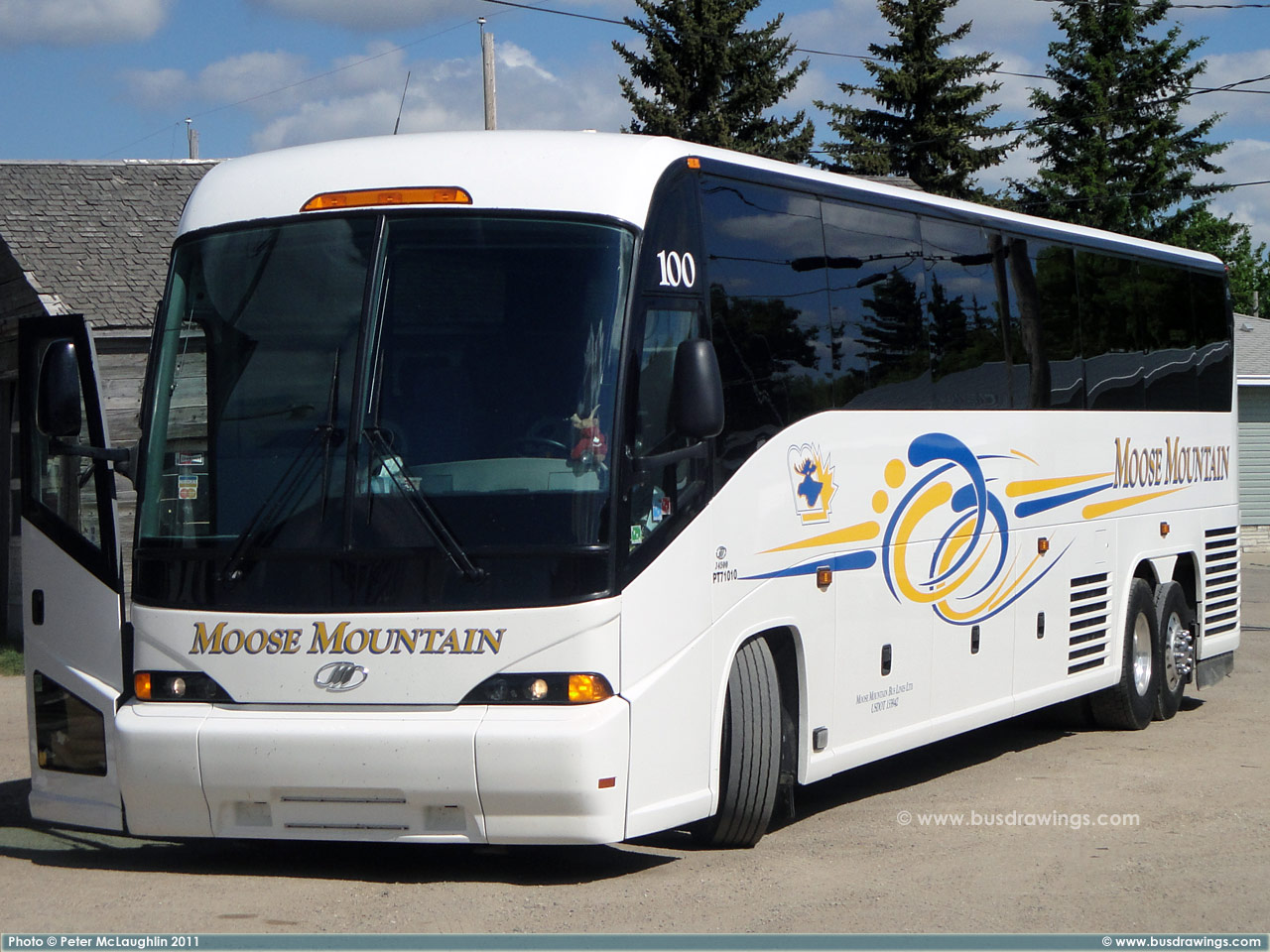 Moose Mountain Bus Lines Motor Coach